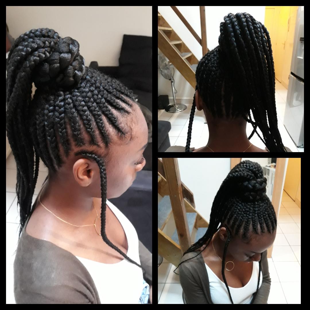 salon de coiffure afro tresse tresses box braids crochet braids vanilles tissages paris 75 77 78 91 92 93 94 95 UNAJFEXJ