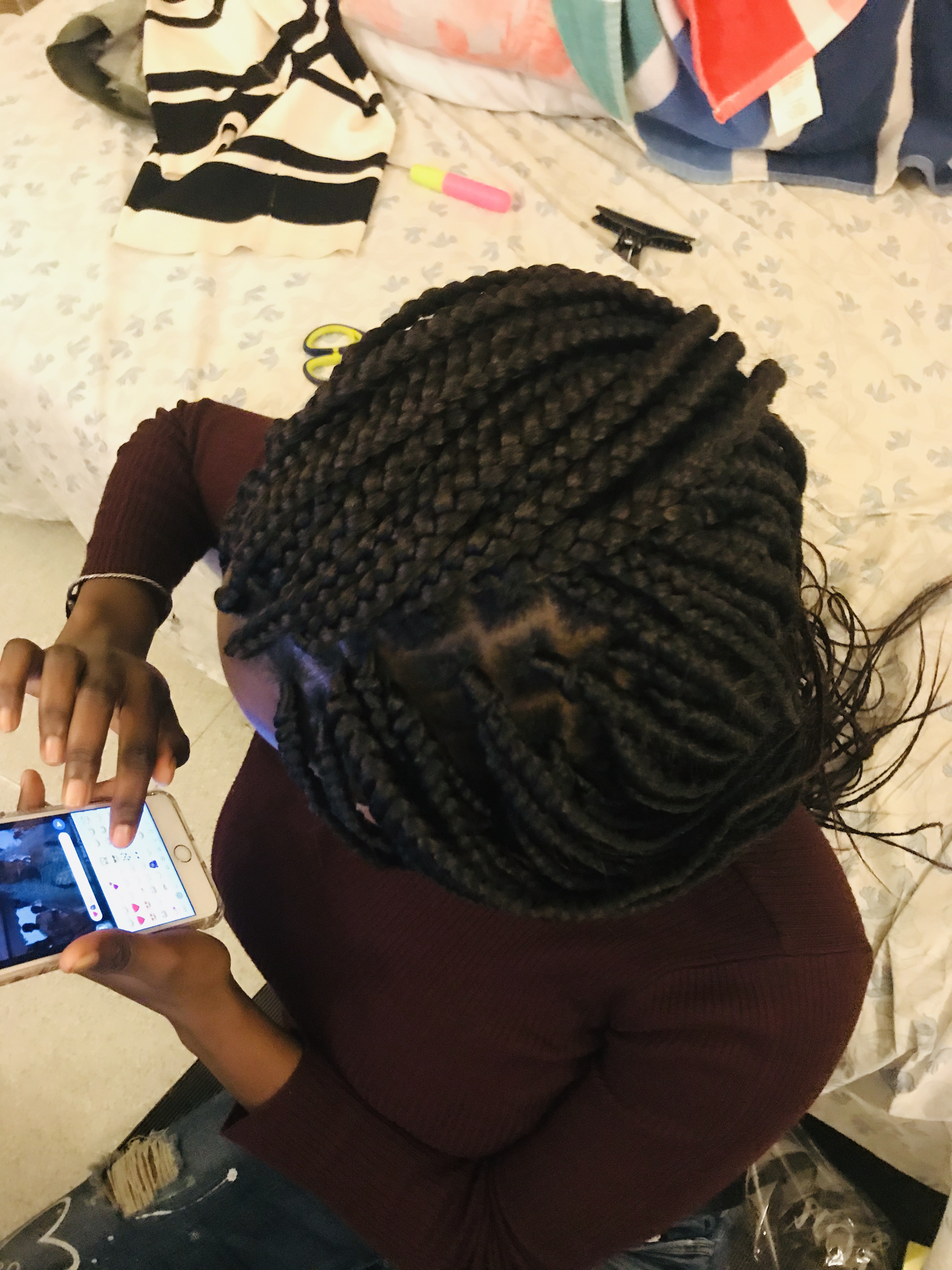 salon de coiffure afro tresse tresses box braids crochet braids vanilles tissages paris 75 77 78 91 92 93 94 95 AJJBBTYE