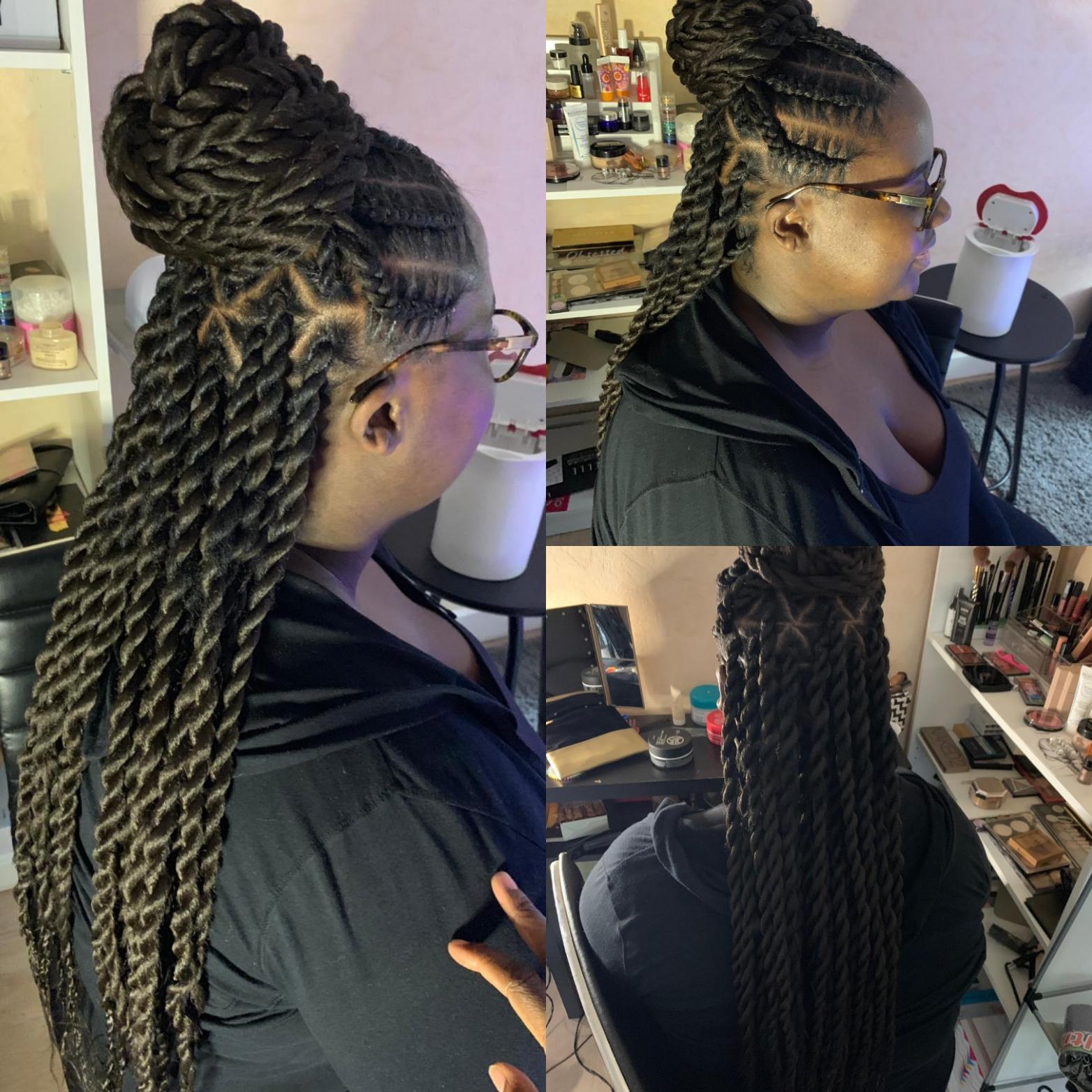 salon de coiffure afro tresse tresses box braids crochet braids vanilles tissages paris 75 77 78 91 92 93 94 95 QACNFYOC