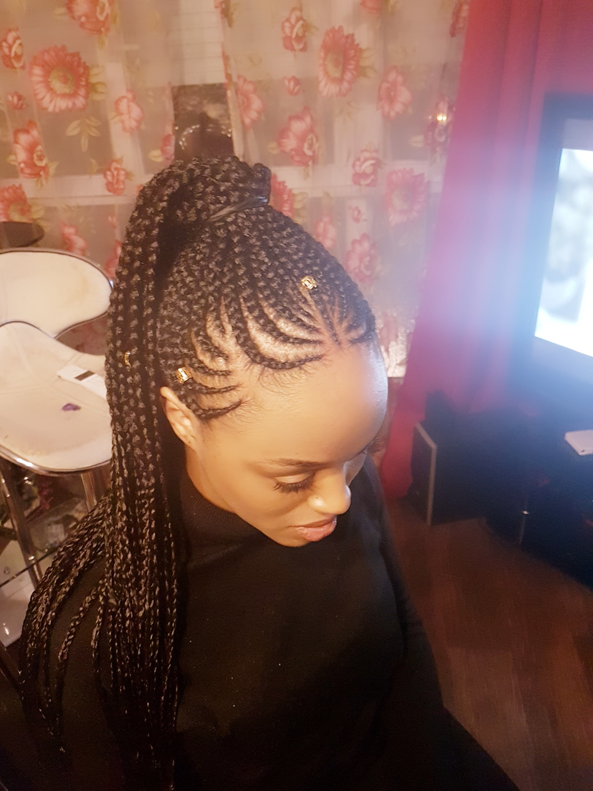 salon de coiffure afro tresse tresses box braids crochet braids vanilles tissages paris 75 77 78 91 92 93 94 95 GFLRCERV