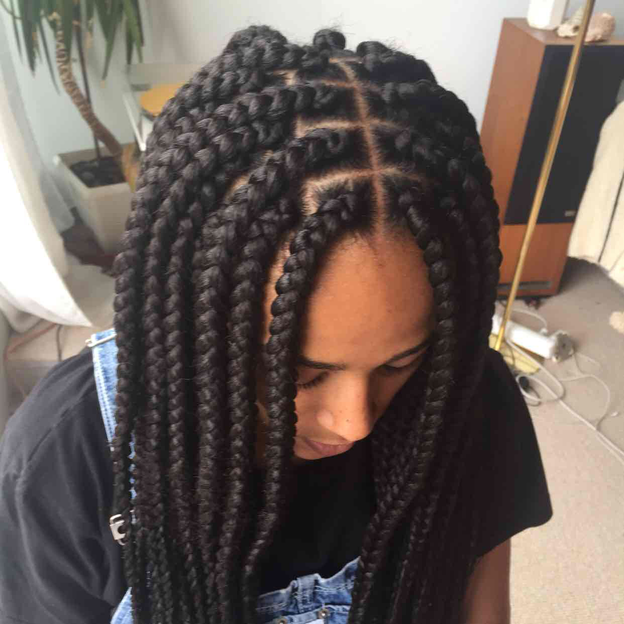 salon de coiffure afro tresse tresses box braids crochet braids vanilles tissages paris 75 77 78 91 92 93 94 95 IVNNYTUT
