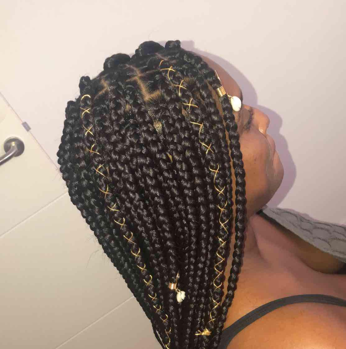 salon de coiffure afro tresse tresses box braids crochet braids vanilles tissages paris 75 77 78 91 92 93 94 95 IXEITFUG