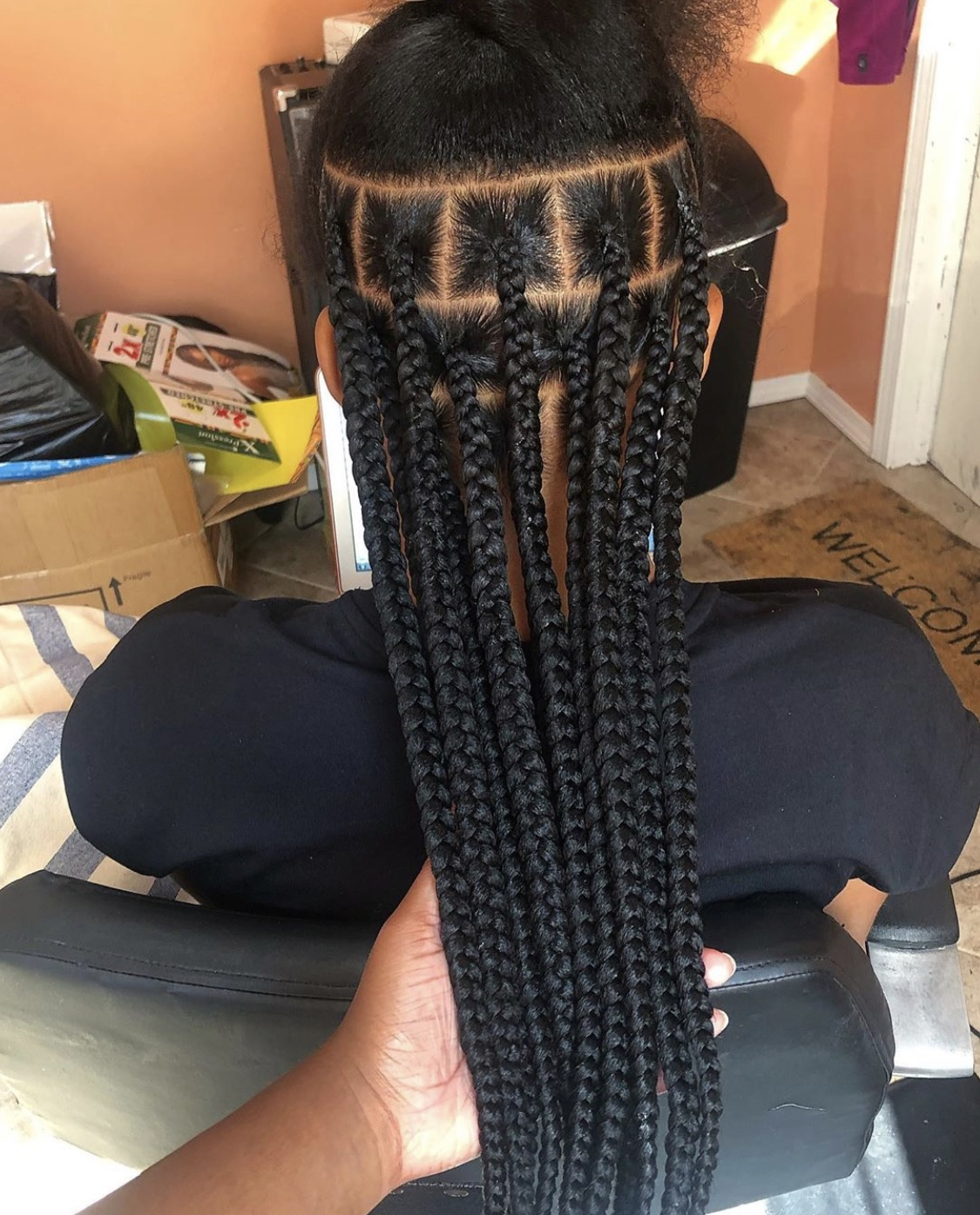 salon de coiffure afro tresse tresses box braids crochet braids vanilles tissages paris 75 77 78 91 92 93 94 95 MEUQEGIE