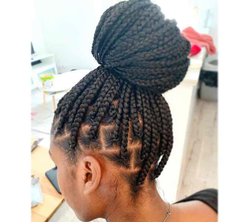 salon de coiffure afro tresse tresses box braids crochet braids vanilles tissages paris 75 77 78 91 92 93 94 95 SQHJSHWZ