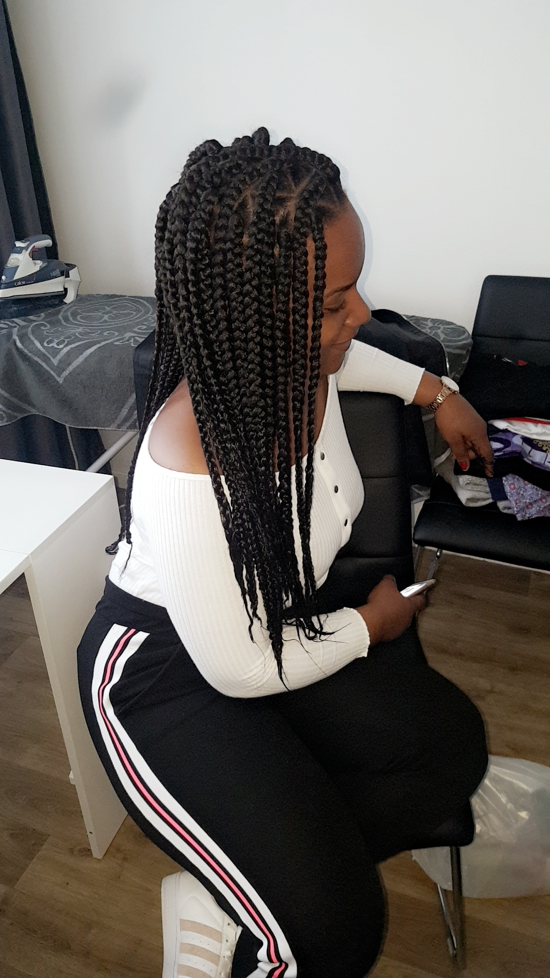 salon de coiffure afro tresse tresses box braids crochet braids vanilles tissages paris 75 77 78 91 92 93 94 95 CBZRYROI