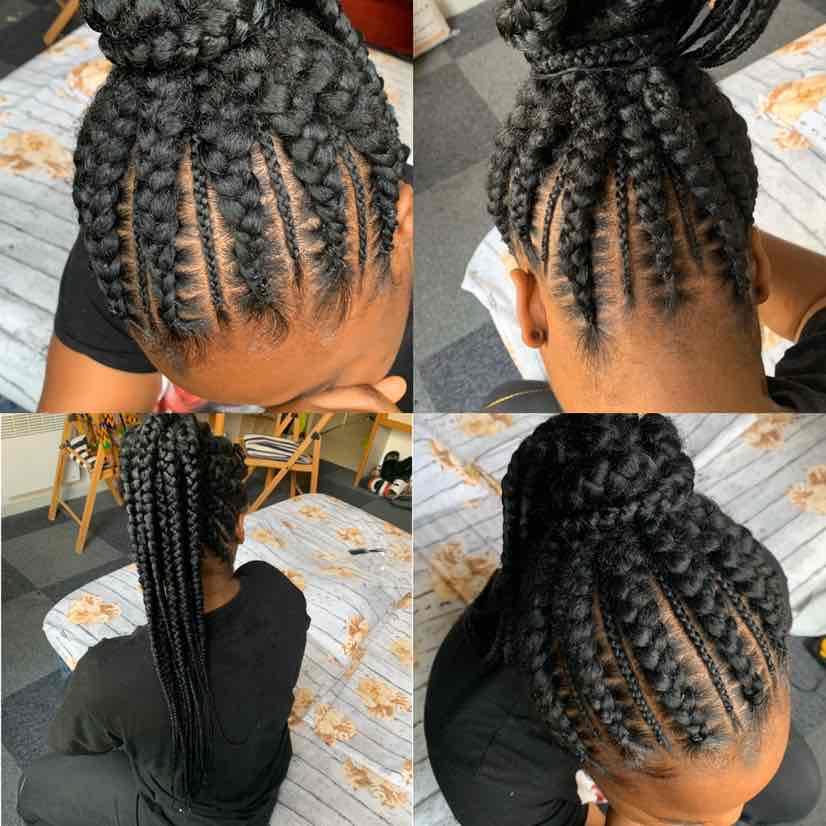 salon de coiffure afro tresse tresses box braids crochet braids vanilles tissages paris 75 77 78 91 92 93 94 95 LRXNRTER