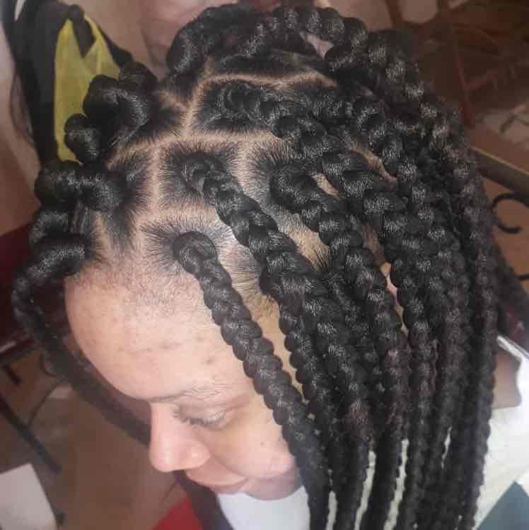 salon de coiffure afro tresse tresses box braids crochet braids vanilles tissages paris 75 77 78 91 92 93 94 95 OKWEMMAF