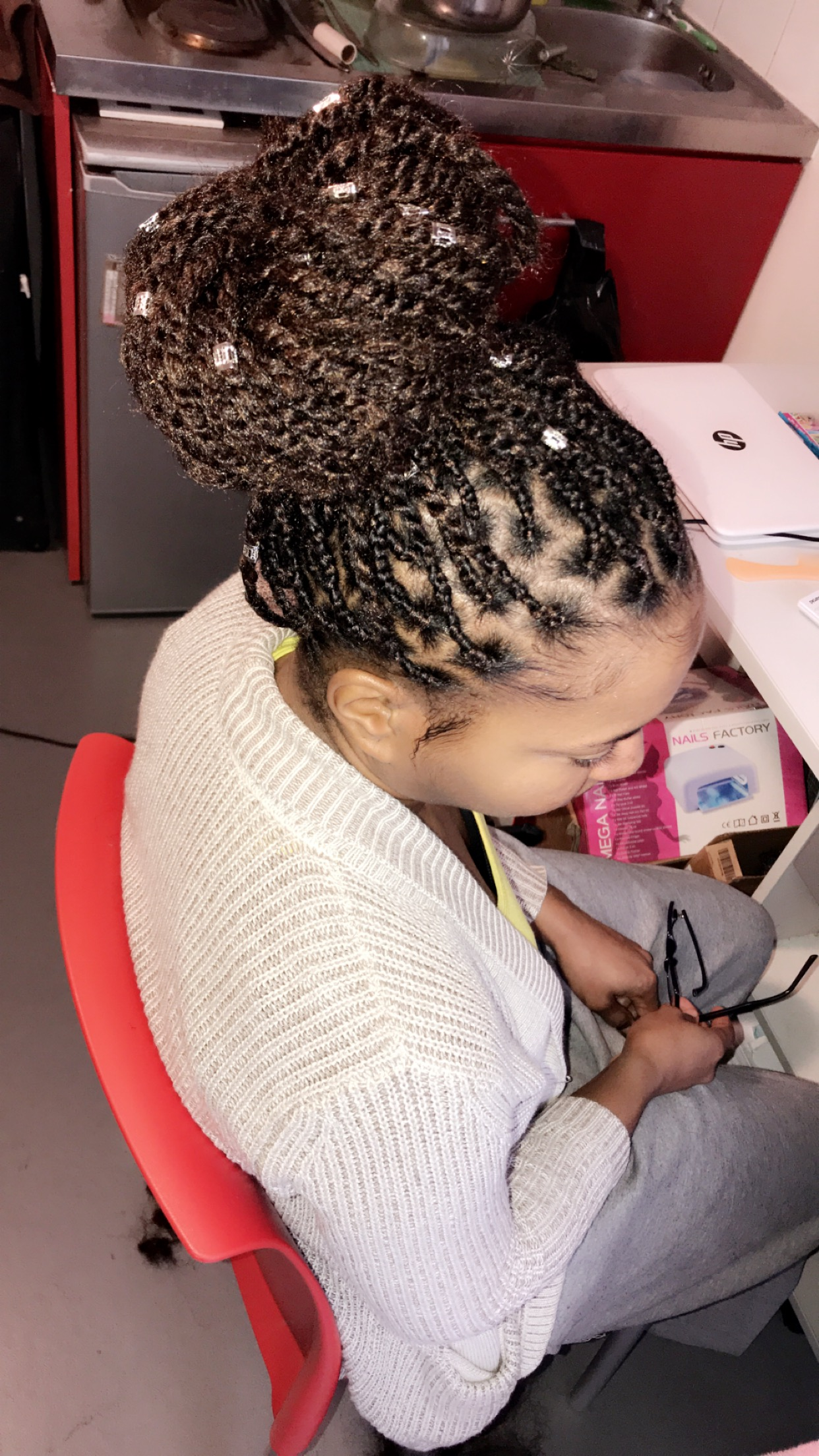 salon de coiffure afro tresse tresses box braids crochet braids vanilles tissages paris 75 77 78 91 92 93 94 95 CBHYBRXF