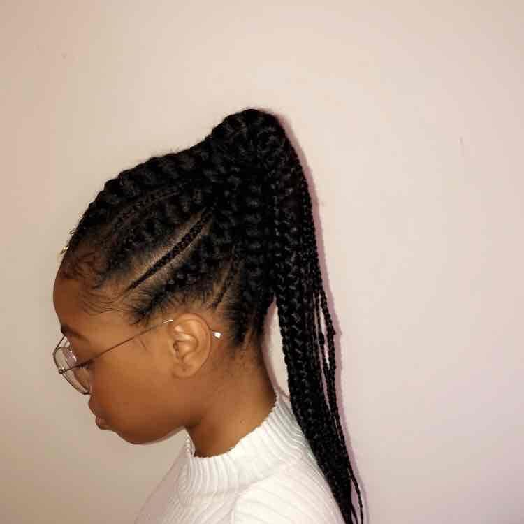 salon de coiffure afro tresse tresses box braids crochet braids vanilles tissages paris 75 77 78 91 92 93 94 95 KFALEYEA