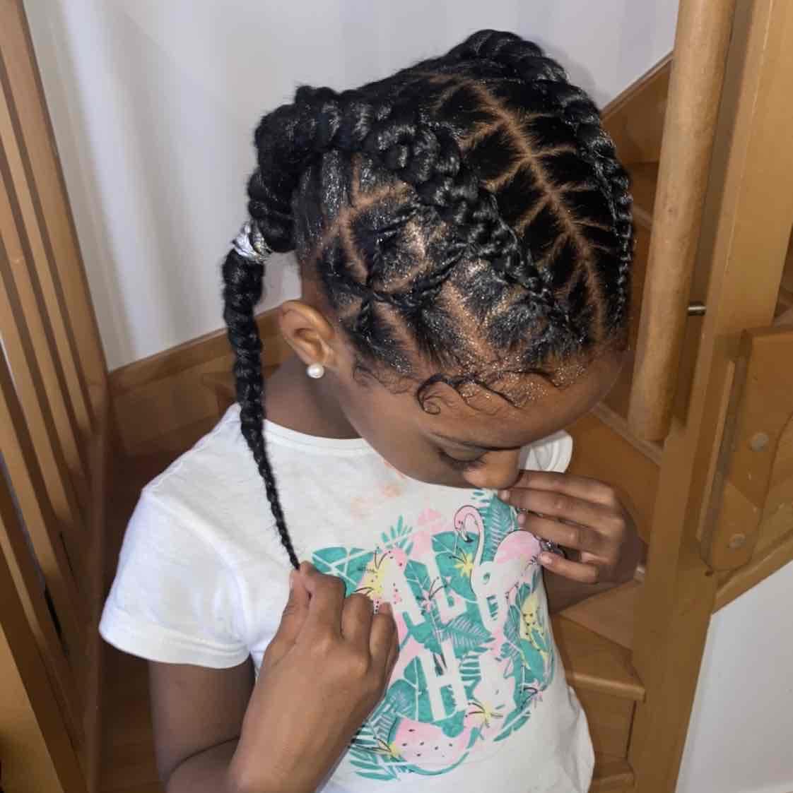 salon de coiffure afro tresse tresses box braids crochet braids vanilles tissages paris 75 77 78 91 92 93 94 95 XOEJYKBN