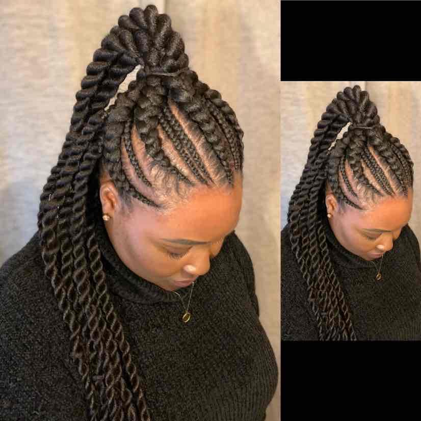 salon de coiffure afro tresse tresses box braids crochet braids vanilles tissages paris 75 77 78 91 92 93 94 95 CGTEMNPF