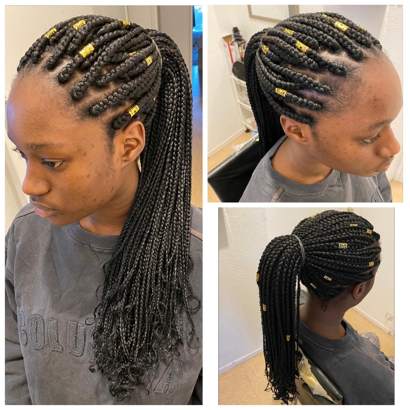 salon de coiffure afro tresse tresses box braids crochet braids vanilles tissages paris 75 77 78 91 92 93 94 95 IFIQCISR