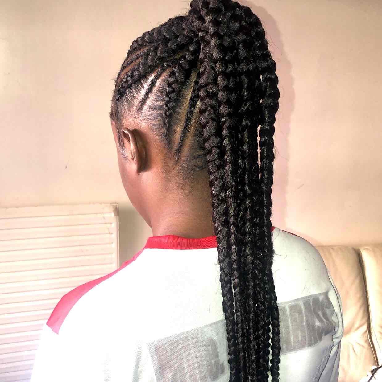 salon de coiffure afro tresse tresses box braids crochet braids vanilles tissages paris 75 77 78 91 92 93 94 95 IZYSBTFM