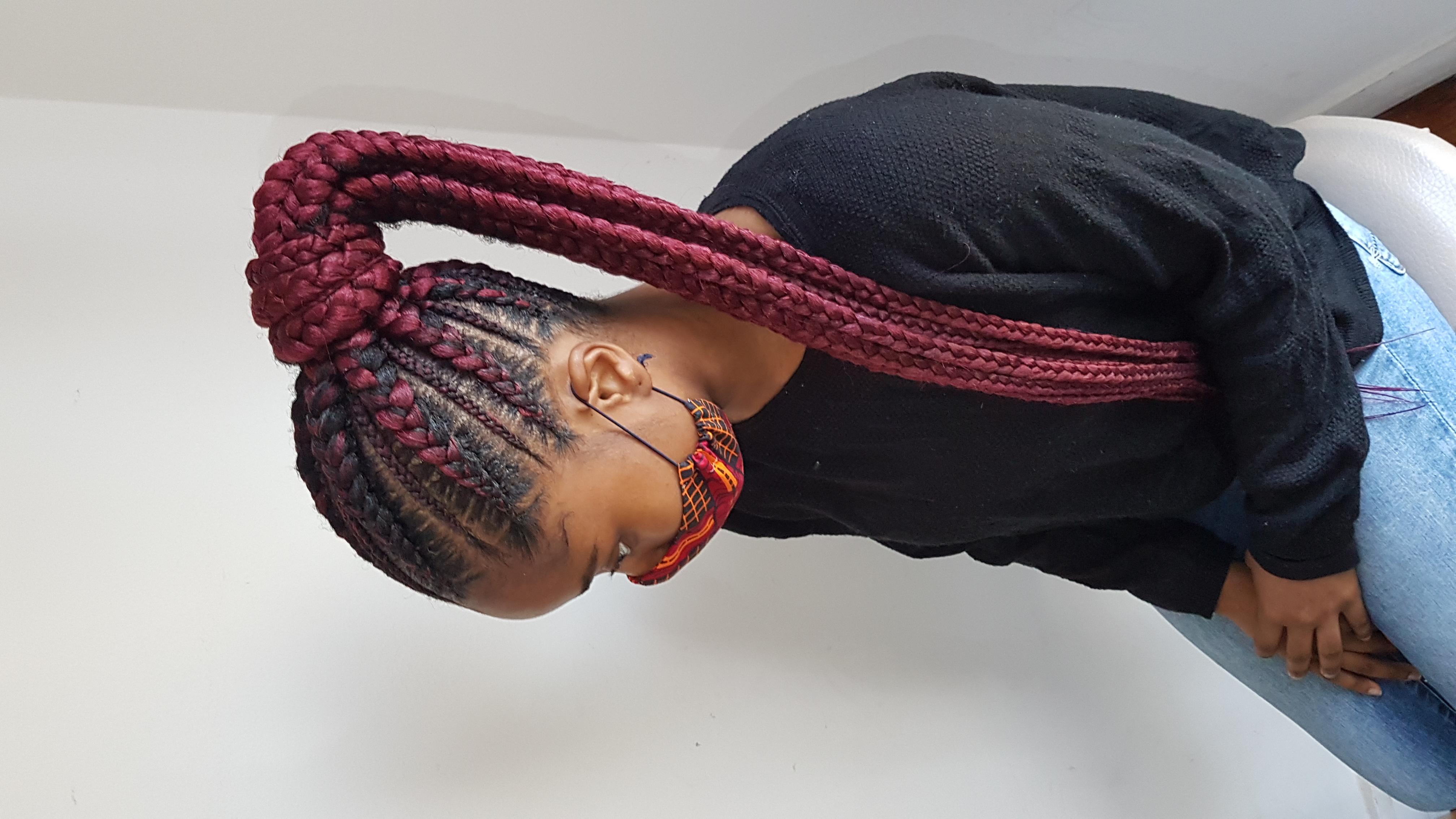 salon de coiffure afro tresse tresses box braids crochet braids vanilles tissages paris 75 77 78 91 92 93 94 95 KHAGAIIT