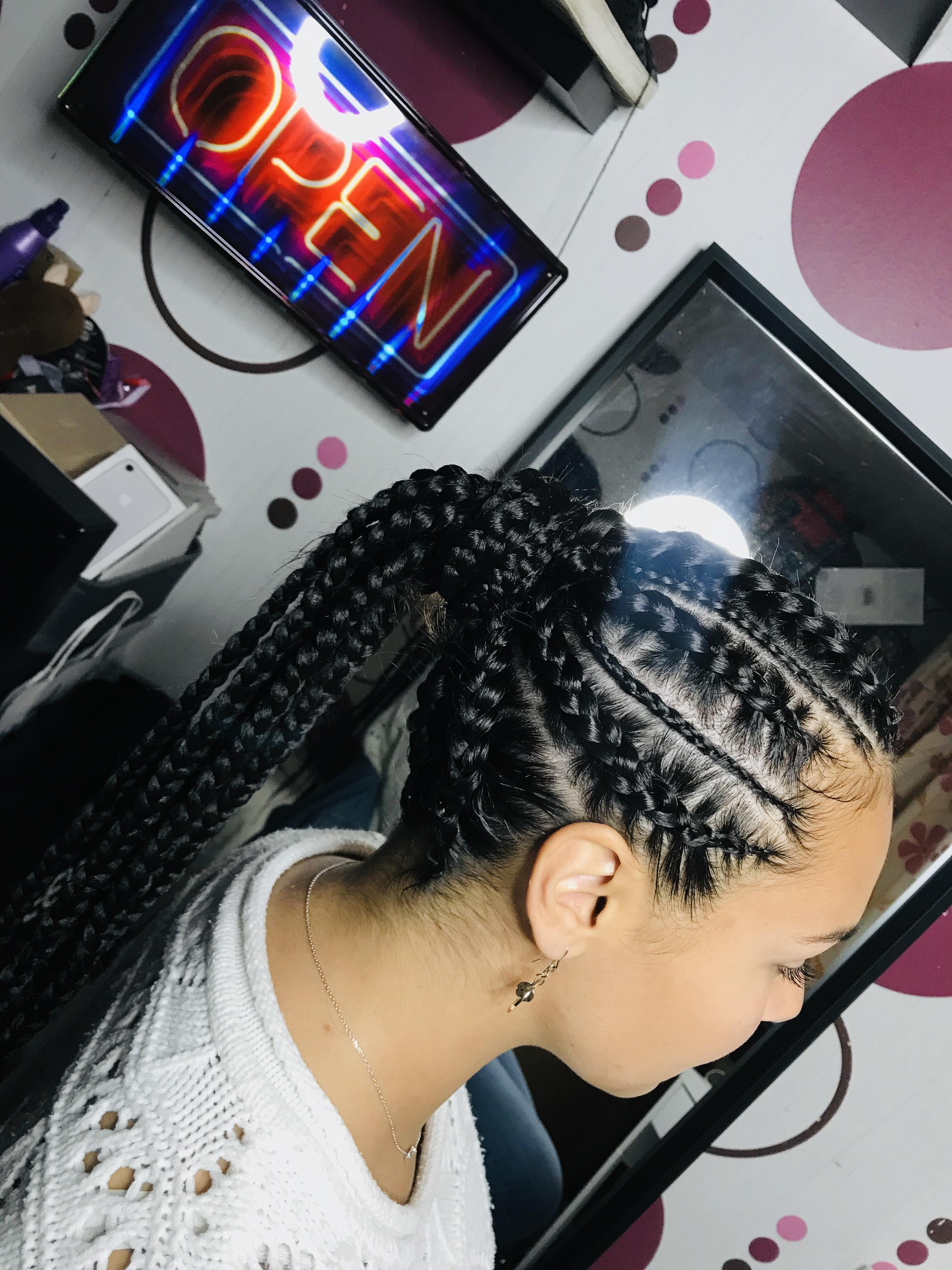 salon de coiffure afro tresse tresses box braids crochet braids vanilles tissages paris 75 77 78 91 92 93 94 95 NOYEEIBY