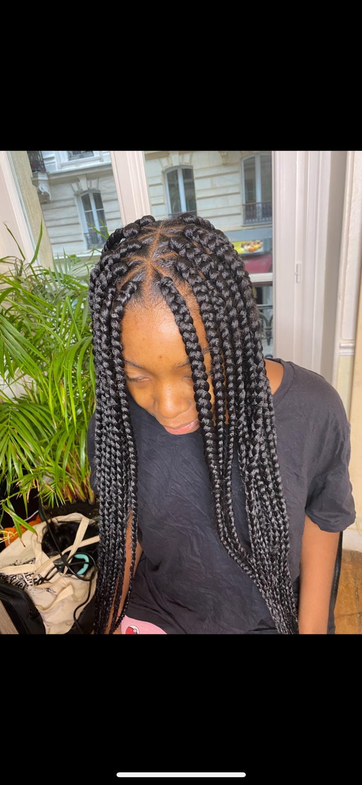 salon de coiffure afro tresse tresses box braids crochet braids vanilles tissages paris 75 77 78 91 92 93 94 95 YCDACOXC
