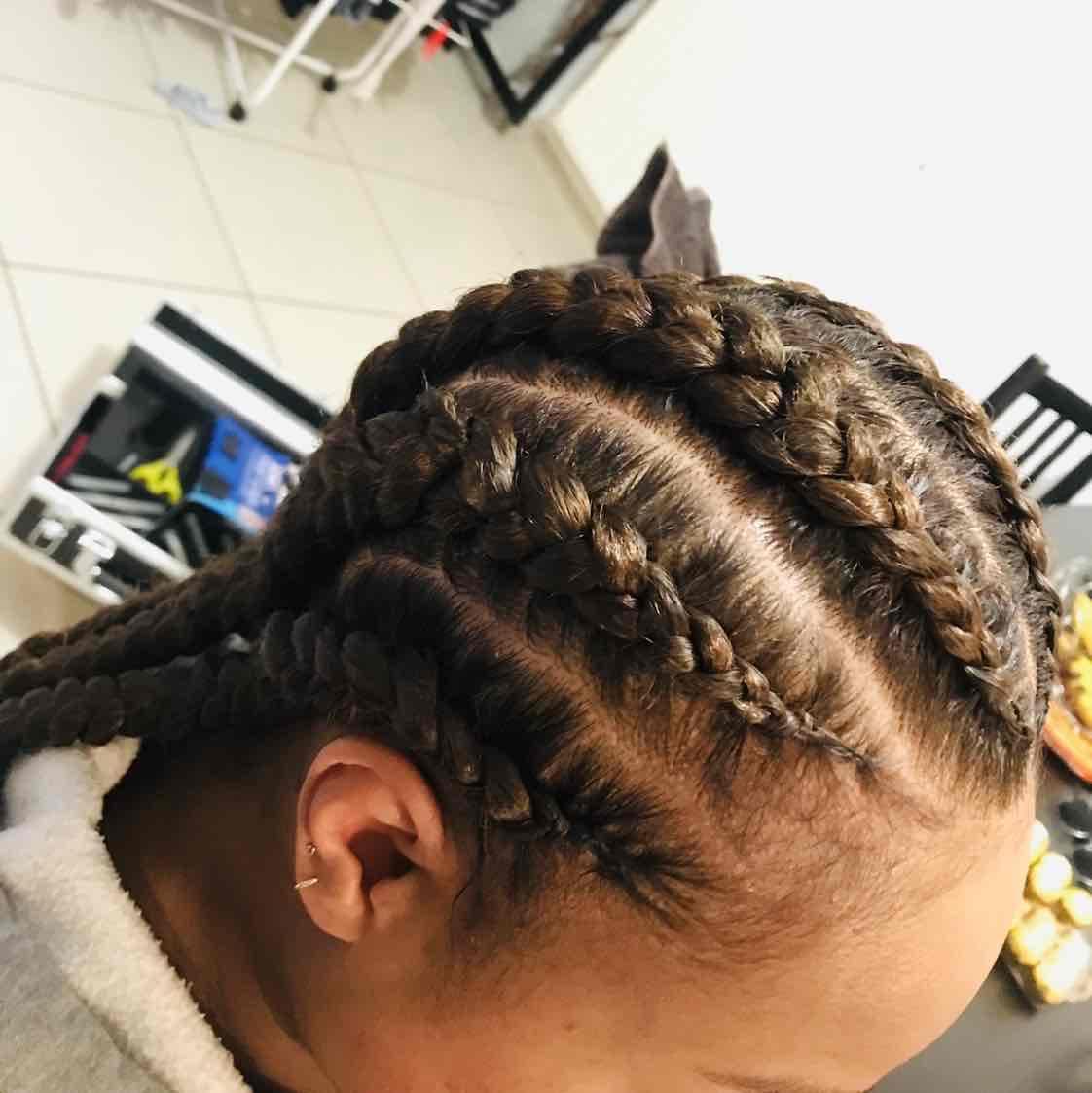 salon de coiffure afro tresse tresses box braids crochet braids vanilles tissages paris 75 77 78 91 92 93 94 95 JEZLLSZZ