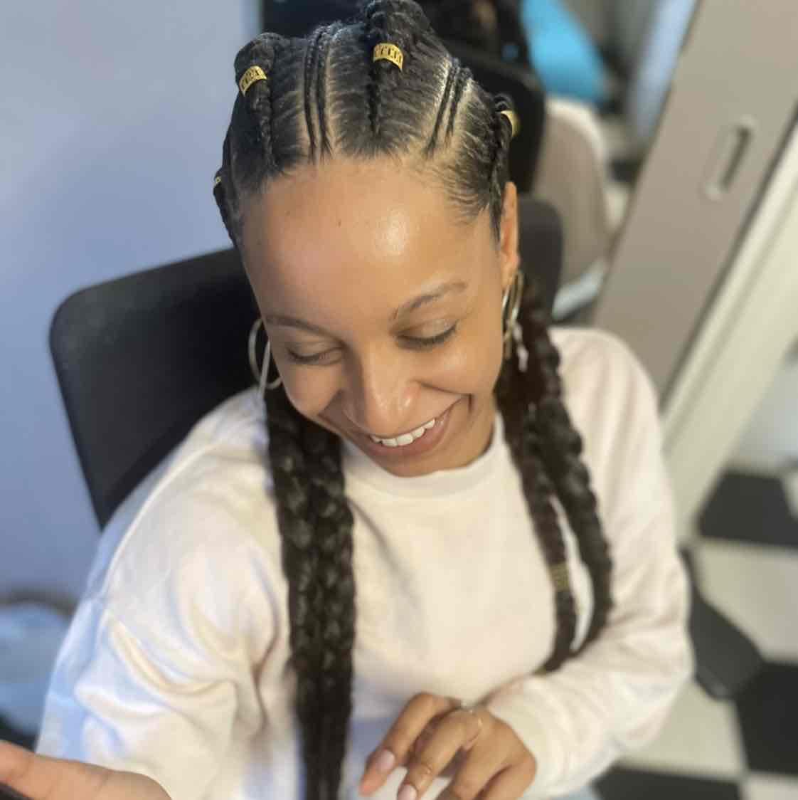 salon de coiffure afro tresse tresses box braids crochet braids vanilles tissages paris 75 77 78 91 92 93 94 95 AJIAFRCC