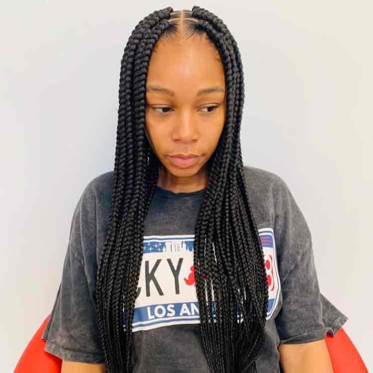 salon de coiffure afro tresse tresses box braids crochet braids vanilles tissages paris 75 77 78 91 92 93 94 95 MULZINIY