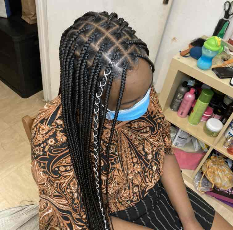 salon de coiffure afro tresse tresses box braids crochet braids vanilles tissages paris 75 77 78 91 92 93 94 95 EFEVOZOS