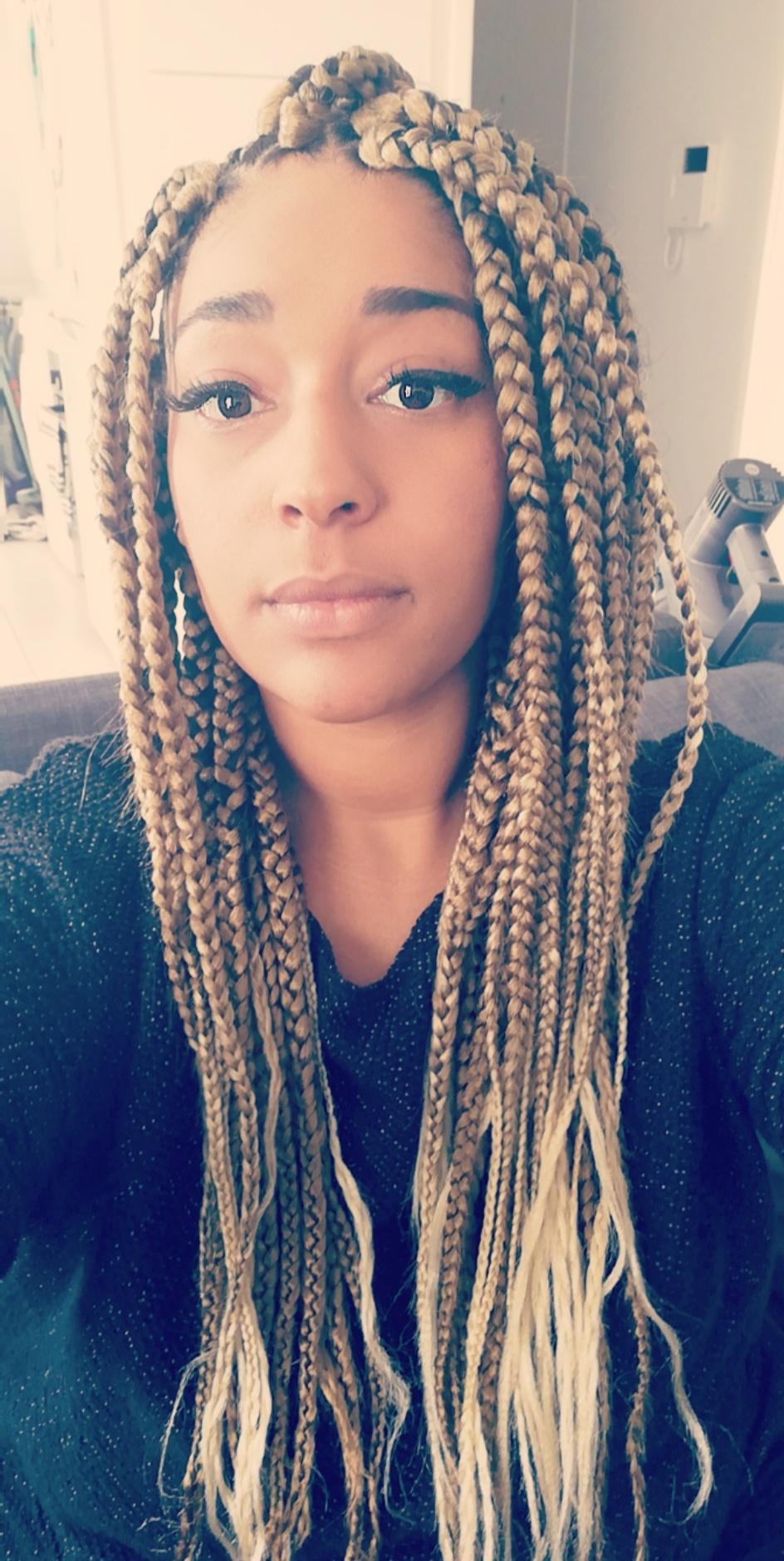 Box braids (effet long)